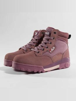 FILA Vapaa-ajan kengät Heritage Grunge Mid purpuranpunainen