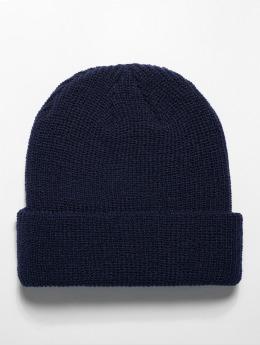 Flexfit Bonnet Long Knit bleu