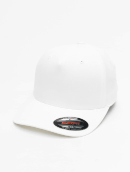 Flexfit Casquette Flex Fitted 5 Panel blanc