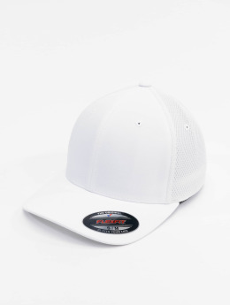 Flexfit Casquette Flex Fitted Mesh Cotton Twill blanc