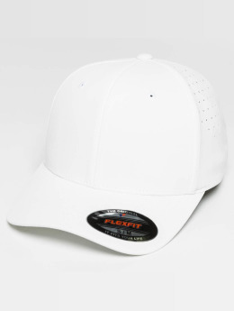 Flexfit Casquette Flex Fitted Perforated blanc