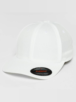 Flexfit Casquette Flex Fitted Hydro-Grid blanc