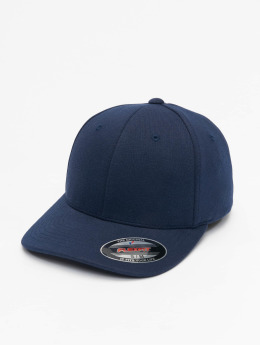 Flexfit Casquette Flex Fitted Double Jersey bleu