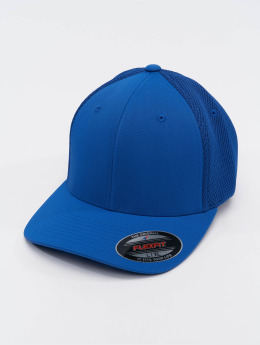 Flexfit Casquette Flex Fitted Tactel Mesh bleu