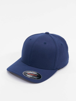Flexfit Casquette Flex Fitted Wool Blend bleu