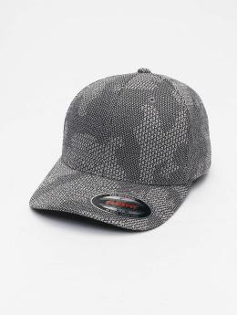 Flexfit Casquette Flex Fitted Jasquard Knit gris