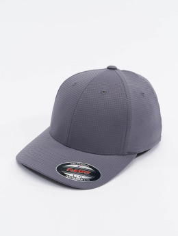 Flexfit Casquette Flex Fitted Hydro-Grid gris