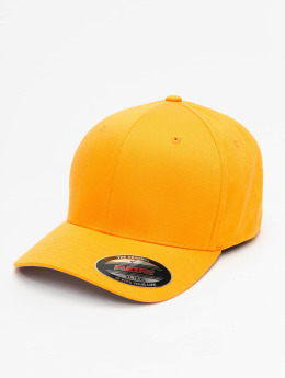 Flexfit | Wooly Combed  jaune Homme,Femme Casquette Flex Fitted