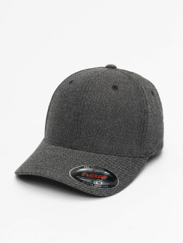 Flexfit Casquette Flex Fitted Melange noir
