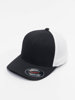 Flexfit Casquette Flex Fitted 2-Tone Ultrafibre & Airmesh noir