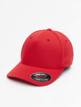 Flexfit Casquette Flex Fitted 5 Panel rouge
