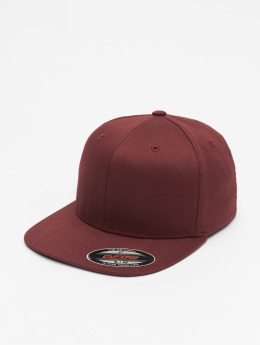 Flexfit Casquette Flex Fitted Flat Visor rouge