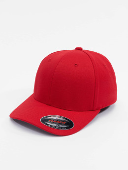 Flexfit Casquette Flex Fitted Wool Blend rouge