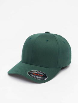 Flexfit Casquette Flex Fitted Wooly Combed vert