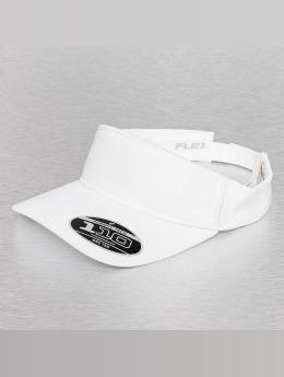 Flexfit Casquette Snapback & Strapback Visor blanc