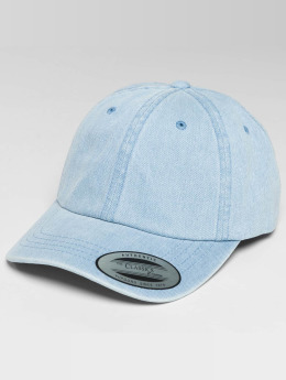 Flexfit Casquette Snapback & Strapback Low Profile Denim bleu