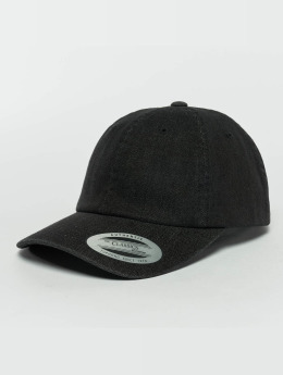 Flexfit Casquette Snapback & Strapback Low Profile Denim noir