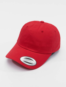 Flexfit Casquette Snapback & Strapback Low Profile Cotton Twill rouge