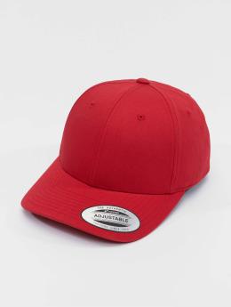 Flexfit Casquette Snapback & Strapback Curved Classic rouge