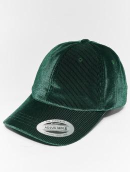 Flexfit Casquette Snapback & Strapback Corduroy Satin vert