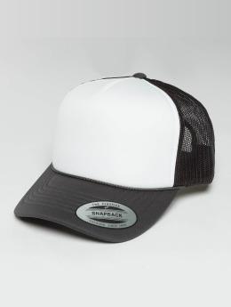 Flexfit Casquette Trucker mesh Curved Visor Foam gris