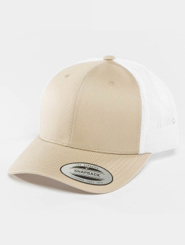 Flexfit Casquette Trucker mesh Retro Two Tone kaki