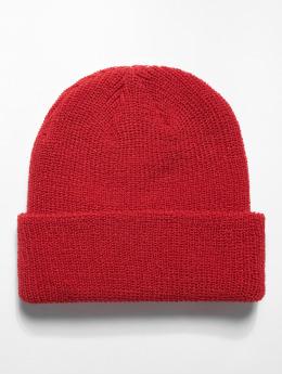 Flexfit Czapki Long Knit czerwony