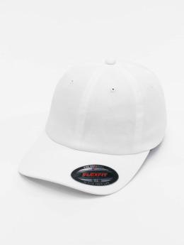 Flexfit Cotton Twill Dad Flexfitted Cap White