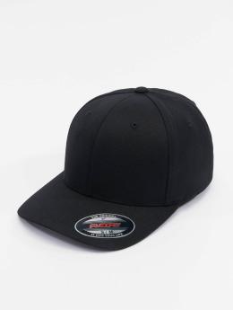 Flexfit Flexfitted Cap Wool Blend čern
