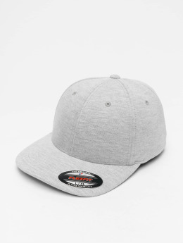 Flexfit Flexfitted Cap Double Jersey  šedá