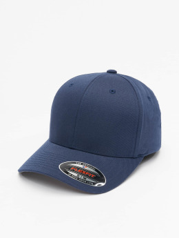 Flexfit Männer,Frauen Flexfitted Cap Wooly Combed in blau
