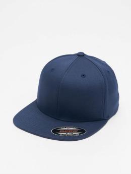 Flexfit Flexfitted Cap Flat Visor blau