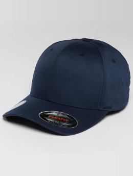 Flexfit Flexfitted Cap Golfer Magnetic Button blauw