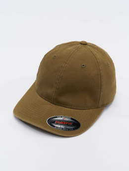 Flexfit Flexfitted Cap Garment Washed Cotton Dat bruin