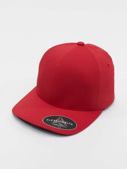 Flexfit Flexfitted Cap Delta czerwony