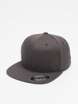 Flexfit Flexfitted Cap Flat Visor grau