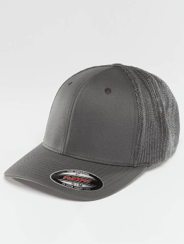 Flexfit Flexfitted Cap Mesh Cotton Twill grau