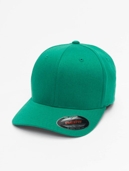 Flexfit Flexfitted Cap Wooly Combed grün