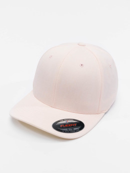 Flexfit / Flexfitted Cap Pastel Melange in rose
