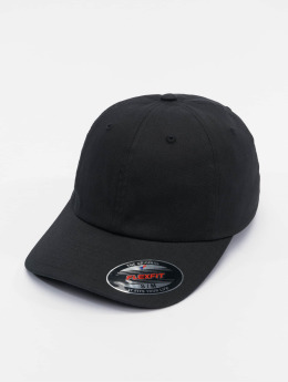 Flexfit Flexfitted Cap Cotton Twill Dad schwarz