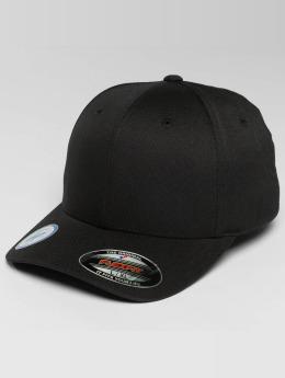Flexfit Flexfitted Cap Golfer Magnetic Button schwarz