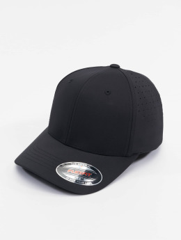 Flexfit Flexfitted Cap Perforated schwarz