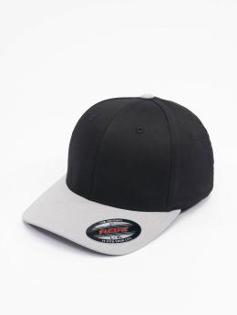 Flexfit Flexfitted Cap 2-Tone Wooly Combed schwarz