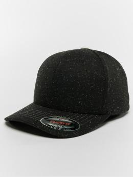 Flexfit Flexfitted Cap Piqué Dots schwarz