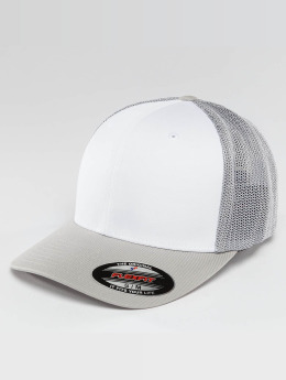 Flexfit Flexfitted Cap Mesh Colored Front zilver