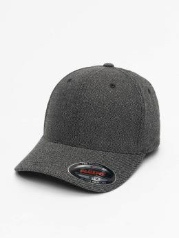 Flexfit Flexfitted Cap Melange zwart