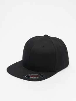 Flexfit Flexfitted Cap Flat Visor zwart