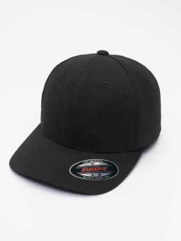 Flexfit Flexfitted Cap 3D Hexagon zwart