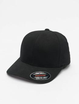 Flexfit Flexfitted-lippikset Twill Brushed musta