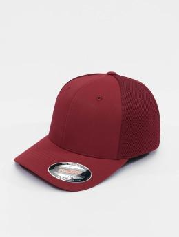 Flexfit Flexfitted-lippikset Tactel Mesh punainen